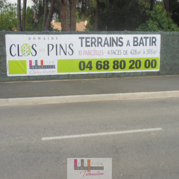 Offres de vente Terrain Cabestany 66330